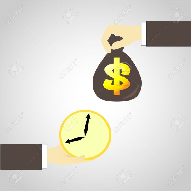 time in  exchange money