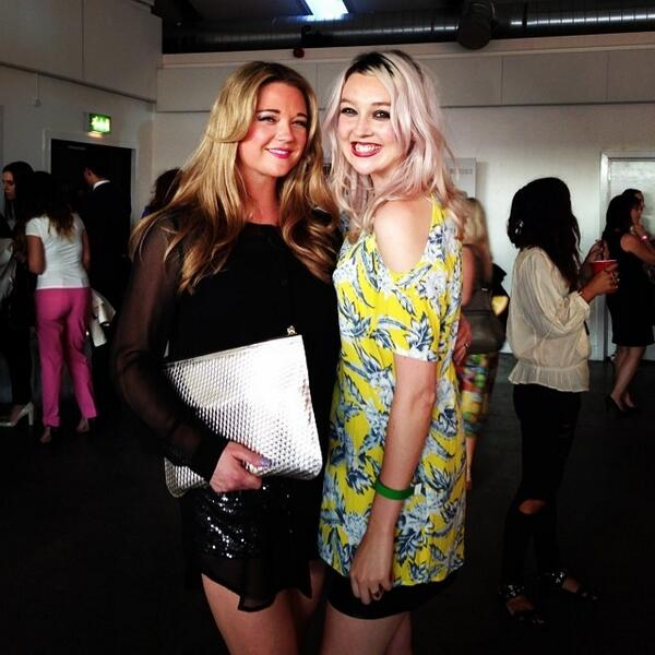 Jess & Holly at Company Awards