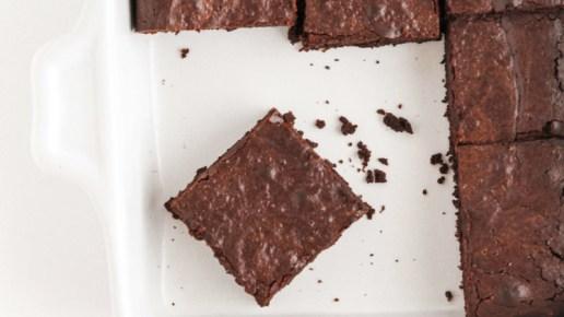 Fudgy Oat Flour Brownies