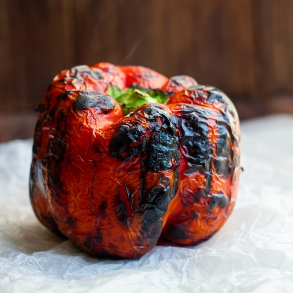 Blackened red pepper 2