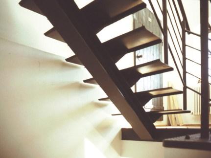 Neue Einholmtreppe