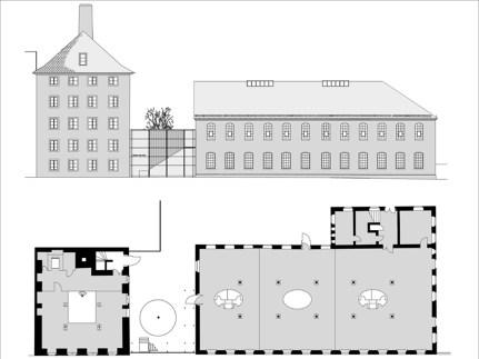 Grundrisse und Ansichten Haus 3 und 8a