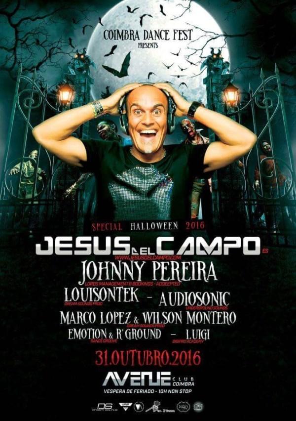 """Jesus del Campo """"Halloween 2016"""" Avenue Club"""