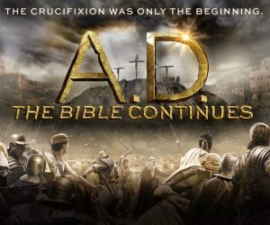 """A.D. THE BIBLE CONTINUES -- Pictured: """"A.D. The Bible Continues"""" Horizontal Key Art -- (Photo by: NBCUniversal)"""