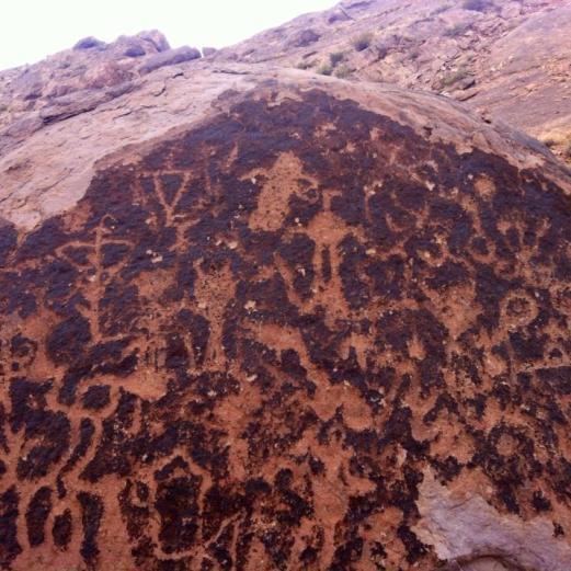 Uspallata petroglyphs 3