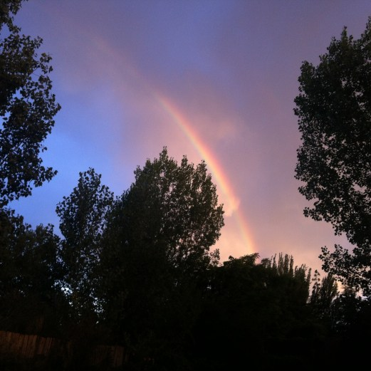 Posada el Encuentro - Christmas rainbow