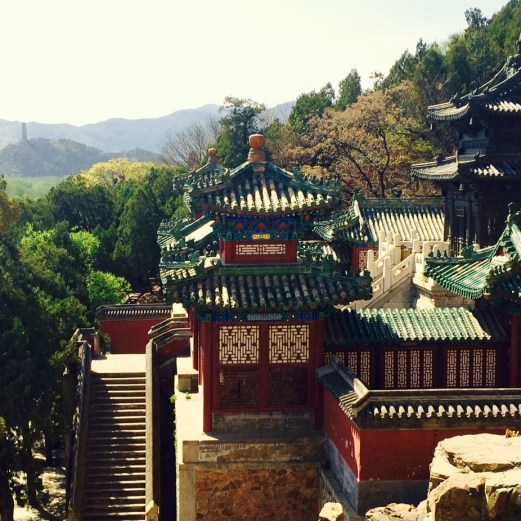 Summer Palace view hills