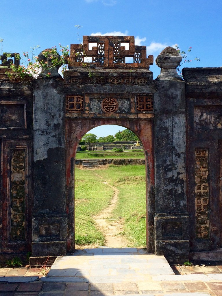 Hue Imperial City Vietnam gate