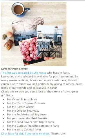 Paris gift ideas My French Life