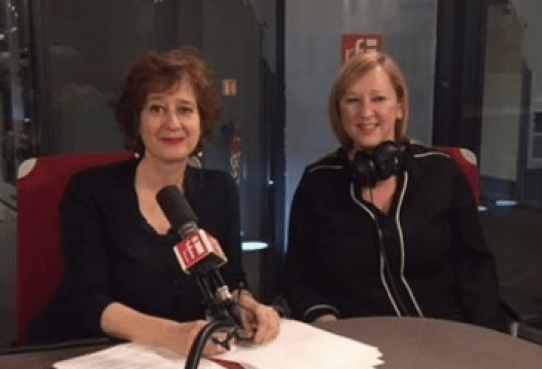 Lily Heise on Radio France Internationale