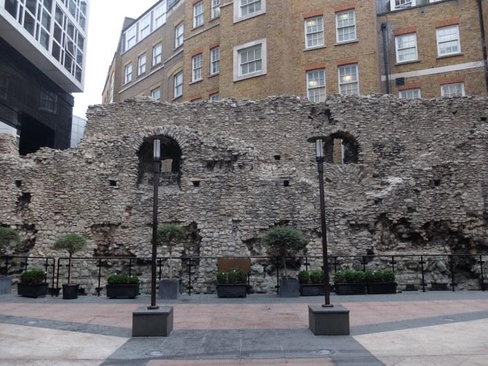 Secret Section Roman Wall London