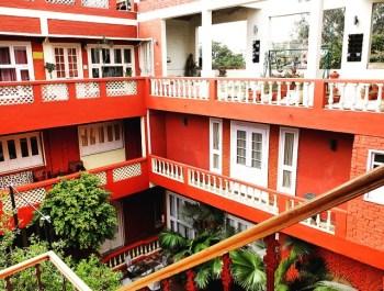 Ranjit's Svaasa Amitsar courtyard