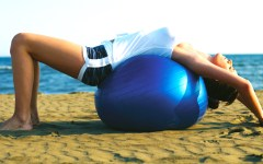 Pilates Ball italy vacation