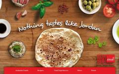 jordan tourism food website
