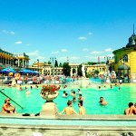 Szechenyi Bath and Spa was its first thermal baths on the Pest side, built in 1881