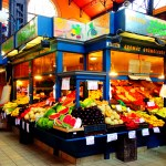 First floor of Great Market Hall has fresh produce and local stands