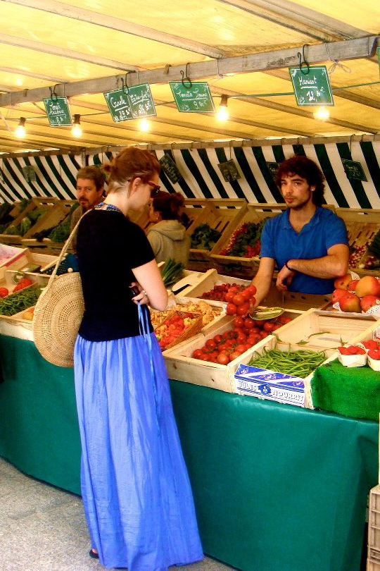 farmer's market paris france