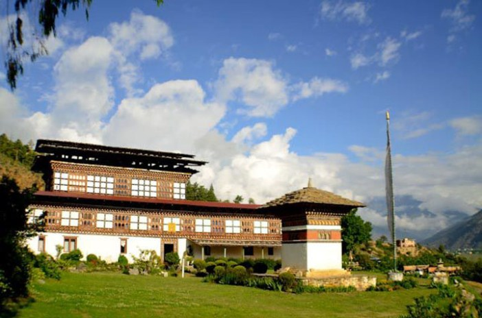 gangtey palace thimphu bhutan hotel