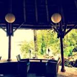 Isla Palenque's beautiful dining area