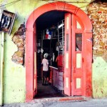 Typical corner store in Casco Viejo, Panama City