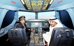 Emirates Air Dubai Mall aviation 3