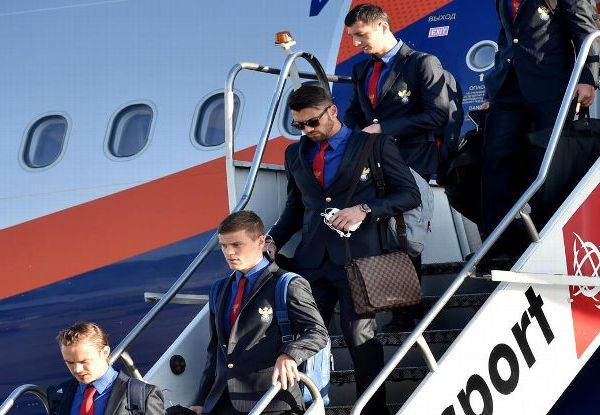 espn World Cup Team Russia arrive Brazil