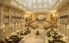 Castle Hotel Dalian China lobby