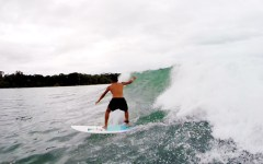 Give and Surf Panama Bocas del Toro Griffin surf