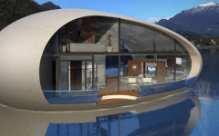 Henry Ward egg shaped sea suites