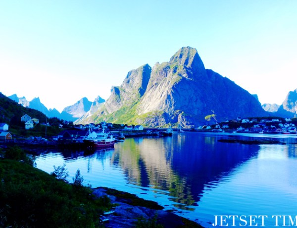 Lofoten Islands Norway mountain