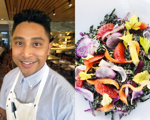 Aestus restaurant chef Andrew Betita