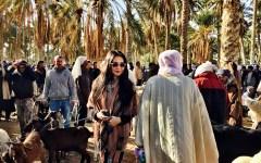 Animal Market Douz, Tunisia