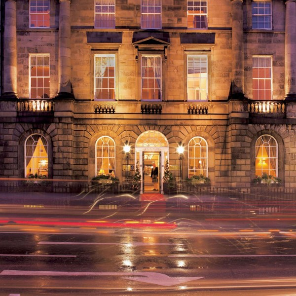 Although the hotel looks discreet from the outside, The Roxburghe has everything that guests would ever need.