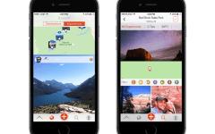 Yonder travel app