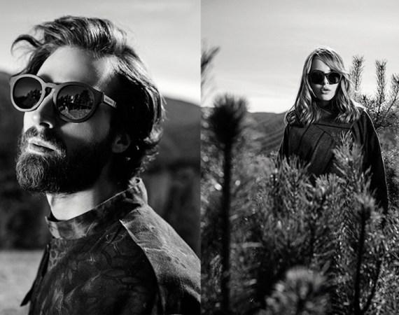 BREVNO wooden sunglasses