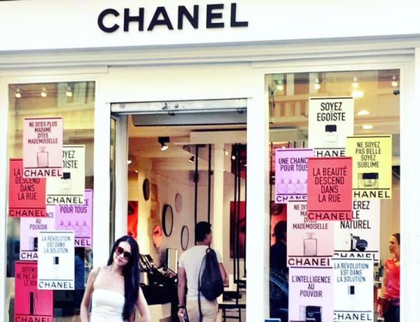 Paris Chanel Boutiques