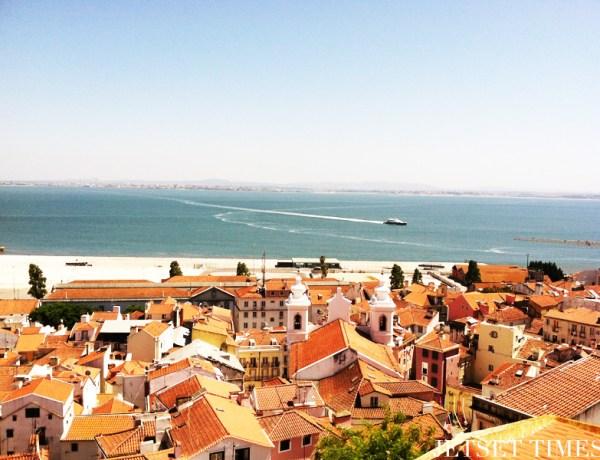 View of the Atlantic Ocean.