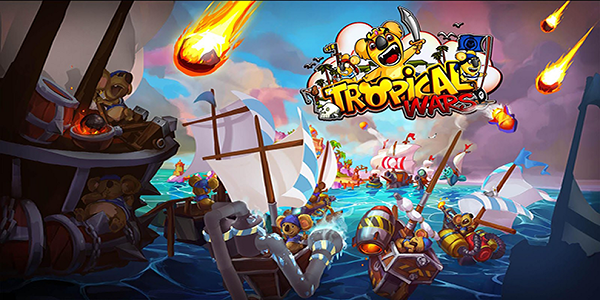 Tropical Wars Triche Astuce Or,Mana,Diamants