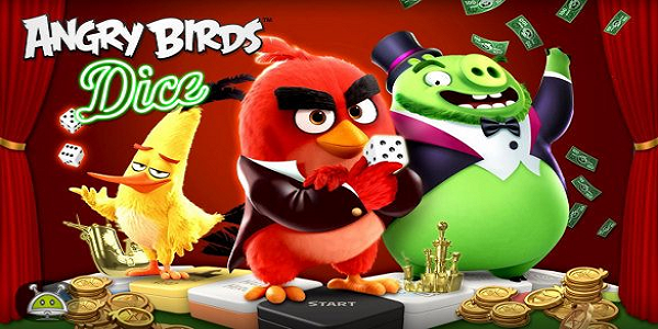 Angry Birds Dice Triche Astuce Illimite Gemmes et Or