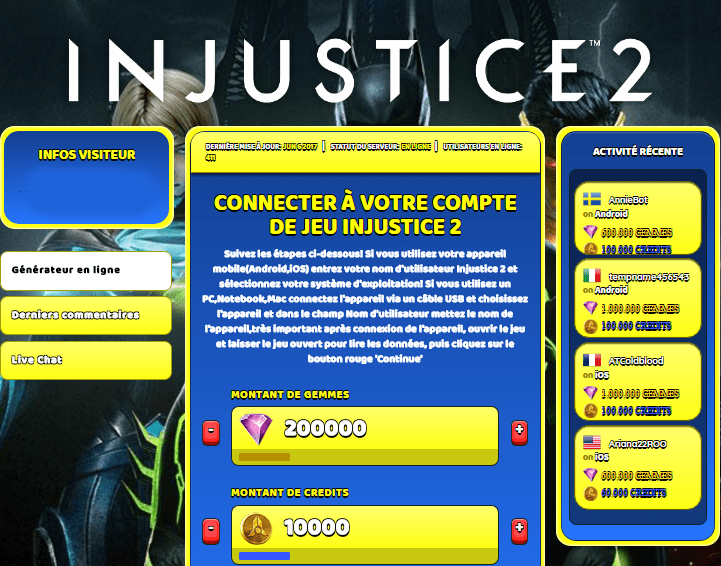 Injustice 2 Astuce, Injustice 2 triche en ligne, Injustice 2 triche android, Injustice 2 triche Gemmes et Credits gratuit, Injustice 2 triche illimite Gemmes et Credits, Injustice 2 triche ios, Injustice 2 triche ipad, Injustice 2 triche iphone, Injustice 2 gratuit Gemmes et Credits, Injustice 2 triche samsung galaxy, Injustice 2 triche telecharger, Injustice 2 tricher, Injustice 2 tricheu, Injustice 2 tricheur, triche Injustice 2, code de triche Injustice 2, Injustice 2 astuce, Injustice 2 astuce en ligne, Injustice 2 astuce android, Injustice 2 astuce gratuit, Injustice 2 astuce ios, Injustice 2 astuce iphone, Injustice 2 astuce telecharger, Injustice 2 astuces, Injustice 2 astuces gratuit, Injustice 2 astuces android, Injustice 2 astuces ios,, Injustice 2 astuces telecharger, Injustice 2 astuce Gemmes et Credits, Injustice 2 cheat, Injustice 2 cheats, Injustice 2 cheat Gemmes et Credits, Injustice 2 cheat gratuit, Injustice 2 cheat iphone, Injustice 2 cheat telecharger, Injustice 2 hack online, Injustice 2 hack generator, Injustice 2 hack android, Injustice 2 hack Gemmes et Credits, Injustice 2 illimité Gemmes et Credits, Injustice 2 mod apk, Injustice 2 mod apk Gemmes et Credits, Injustice 2 mod apk android, Injustice 2 outil, Injustice 2 outil de piratage, Injustice 2 pirater, Injustice 2 pirater en ligne, Injustice 2 pirater android, Injustice 2 pirater Gemmes et Credits, Injustice 2 pirater gratuit, Injustice 2 pirater ios, Injustice 2 pirater iphone, Injustice 2 pirater illimite Gemmes et Credits, Injustice 2 triche jeu, Injustice 2 astuce triche en ligne, comment tricheur sur Injustice 2, Gemmes et Credits gratuit dans Injustice 2, Injustice 2 illimite Gemmes et Credits, Injustice 2 hacken, Injustice 2 beschummeln, Injustice 2 betrügen, Injustice 2 betrügen Gemmes et Credits, Injustice 2 unbegrenzt Gemmes et Credits, Injustice 2 Gemmes et Credits frei, Injustice 2 hacken Gemmes et Credits, Injustice 2 Gemmes et Credits gratuito, Injustice 2 mod Gemmes et Credits, Injustice 2 trucchi, Injustice 2 engañar