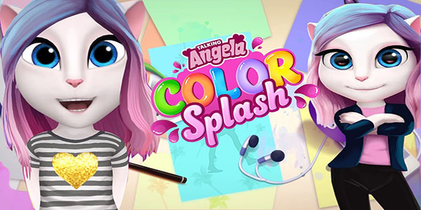 Talking Angela Color Splash Astuce Triche En Ligne Pieces Illimite