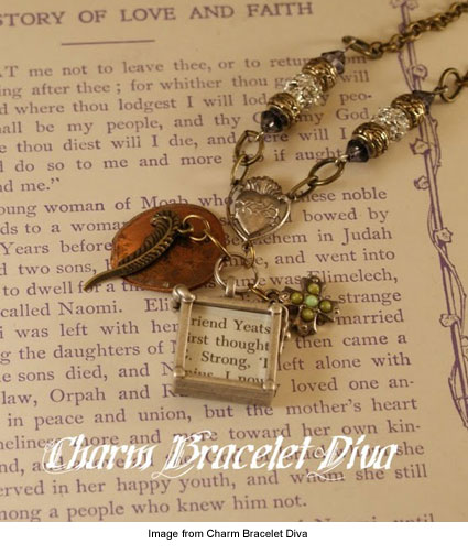 necklace from Charm Bracelet Diva
