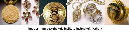 jewelry created by Jewelry Arts Institute instructors