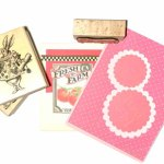 greeting cards and rubber stamps