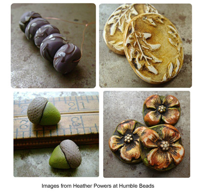 Beautiful beads from Heather Powers at Humble Beads