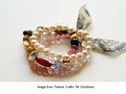 bracelet tutorial from Bev at Flamingo Toes