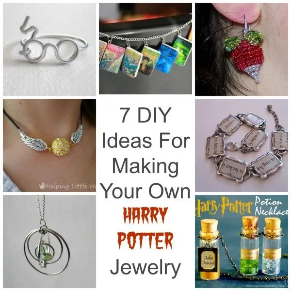 Totally do it yourself 7 ideas for making your own harry potter jewelry here is a great roundup of 7 different diy ideas for making your own harry potter inspired jewelry if you or someone you know is a fan of the solutioingenieria Choice Image
