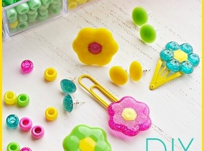 DIY Accessories Made From Melted Beads