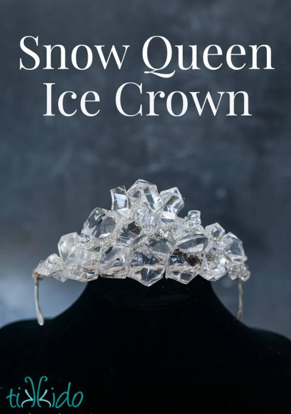 Snow Queen Ice Crown Tutorial