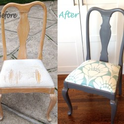 Diy Reupholster Chairs Seat Cushions Yard Sale and Martha Stewart